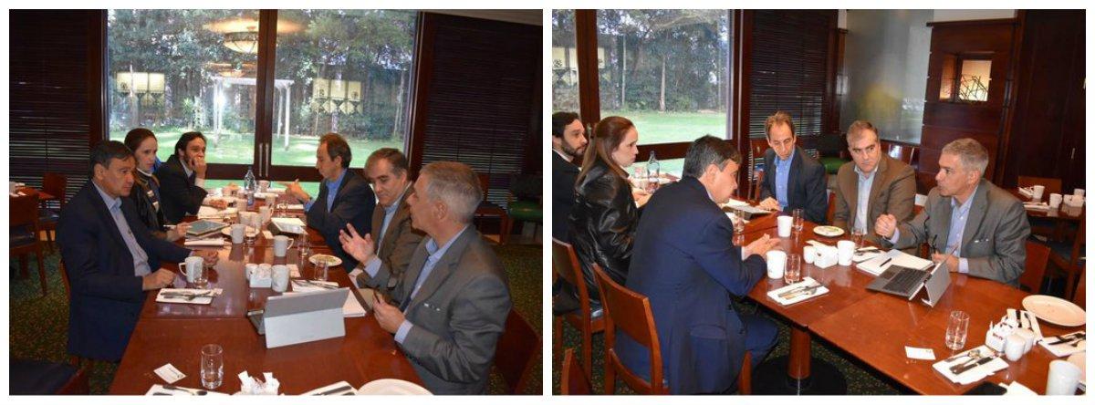 Durante reunião com representantes do Observatório de Parcerias Público Privadas (PPPs) da Universidade Católica de Lisboa, um protocolo de entendimento está sendo desenhado para que a instituição portuguesa estabeleça intercâmbio acadêmico com a Universidade Estadual do Piauí (Uespi) com ênfase no desenvolvimento de ações de sustentabilidade; o intuito do diálogo é aproximar as ações do Piauí, que é referência na implantação de PPPs no Brasil, com o centro de estudos que é o primeiro de Portugal no ramo de investigações em negócios e economia