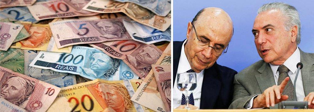 Depois de encerrar 2017 acima da barreira de R$ 3,5 trilhões e em nível recorde, a Dívida Pública Federal (DPF) deverá chegar ao fim de 2018 entre R$ 3,78 trilhões e R$ 3,98 trilhões, segundo o Plano Anual de Financiamento (PAF) divulgado peloTesouro Nacional; governo Michel Temer pretende estabilizar a composição da DPF em 2018, mantendo a fatia de títulos prefixados vinculados à inflação, e reduzindo levemente a parcela da dívida corrigida por taxas flutuantes como a Selic e pelo câmbio