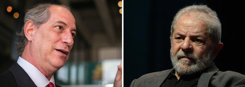 A mensagem de Ciro é clara: o processo judicial é justo e todos devem aceitar passivamente as eleições sem Lula em caso de condenação. Afinal a justiça é imparcial e não houve perseguição na primeira ou segunda instância. Nesse caso (condenação), existiria uma outra opção para esse eleitorado sem candidato: ele mesmo