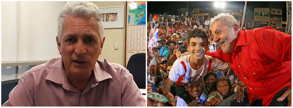 """O deputado estadual Rogério Correia (PT) voltou a criticar o julgamento do ex-presidente Lula pelo TRF4, no próximo dia 24, em Porto Alegre, no caso do tripléx do Guarujá; """"Não podemos ficar parados: é a democracia brasileira, e a defesa dos interesses do povo, que estão em jogo"""", disse o parlamentar em sua conta no Facebook; """"Contra a injustiça vale a revolta"""""""