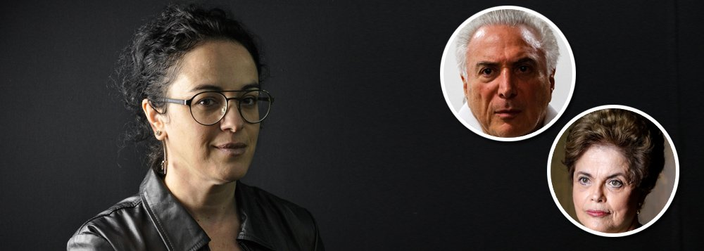 """Em entrevista à TV 247, a filósofa e escritora Marcia Tiburi denuncia o caráter misógino do golpe que derrubou Dilma Rousseff; """"É incrível como a população odiou Dilma Rousseff, ódio concreto, e é incrível como a população não consegue odiar Michel Temer, que é zilhões de vezes pior"""", declarou; na conversa, ela fala ainda sobre a polêmica com Kim Kataguiri, com quem decidiu não debater, sobre o PSOL, partido ao qual já foi filiada, destaca a importância da legalização do aborto e defende um feminismo que dialoga com os homens; assista"""