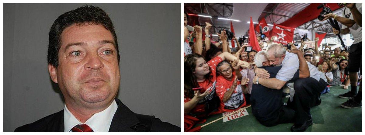 """""""Não criamos muita expectativa sobre o julgamento porque já sabíamos a decisão desta Justiça, cujo papel é criminalizar a pobreza, minando a classe trabalhadora. Além disso, sabemos que, seja lá qual for o resultado final deste julgamento, todos os recursos possíveis serão impetrados"""", analisou Ricardo Barbosa, presidente do PT em Alagoas; para ele, Lula somente não será candidato, nas eleições presidenciais deste ano, """"se morrer ou se não quiser"""""""