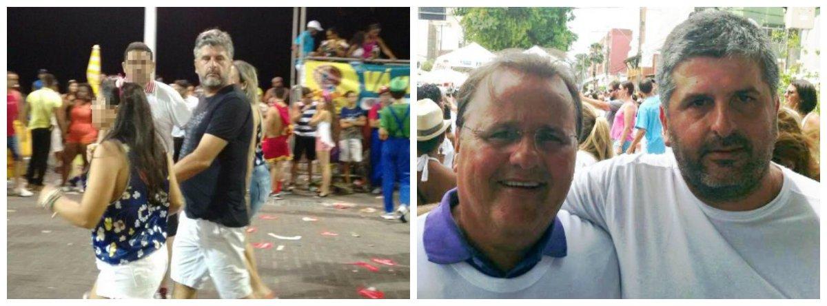 Homem de confiança do ex-ministro Geddel Vieira Lima, Gustavo Ferraz foi flagrado curtindo o Carnaval no circuito Dodô (Barra-Ondina), em Salvador; ele foi liberado da prisão domiciliar pelo ministro do Supremo Tribunal Federal (STF), Edson Fachin; Gustavo Ferraz havia sido preso por suposto envolvimento no caso do bunker de R$ 51 milhões de Geddel