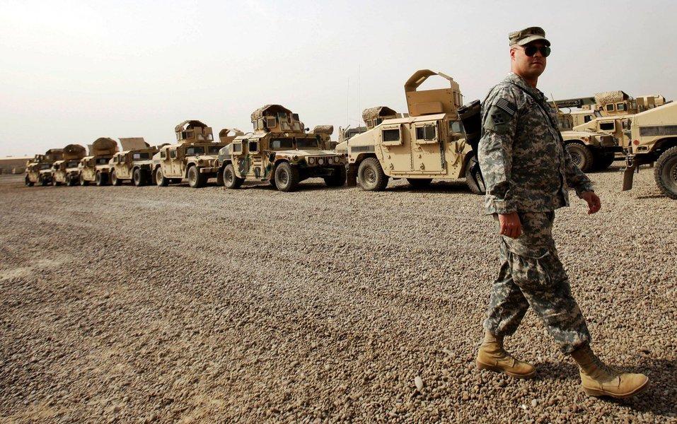 """""""As forças americanas começaram a reduzir seus números, já que se obteve uma vitória sobre o Daesh (Estado Islâmico)"""", afirmou o porta-voz do governo iraquiano;Os EUA tinham mais de 5.500 soldados no Iraque no auge da batalha por Mosul, em julho de 2017, o equivalente a cerca de metade da força total mobilizada pela coalizão no país"""