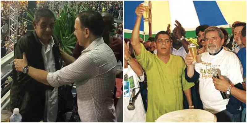 """Em 2002, Zeca Pagodinho ofereceu um churrasco ao então candidato Luiz Inácio Lula das Silva. Na época, o cantor fez a seguinte declaração que é continua atualíssima: """"O País precisa de alguém do povo, que conhece o sofrimento dos mais humildes. Lula é único que conhece essa realidade"""""""