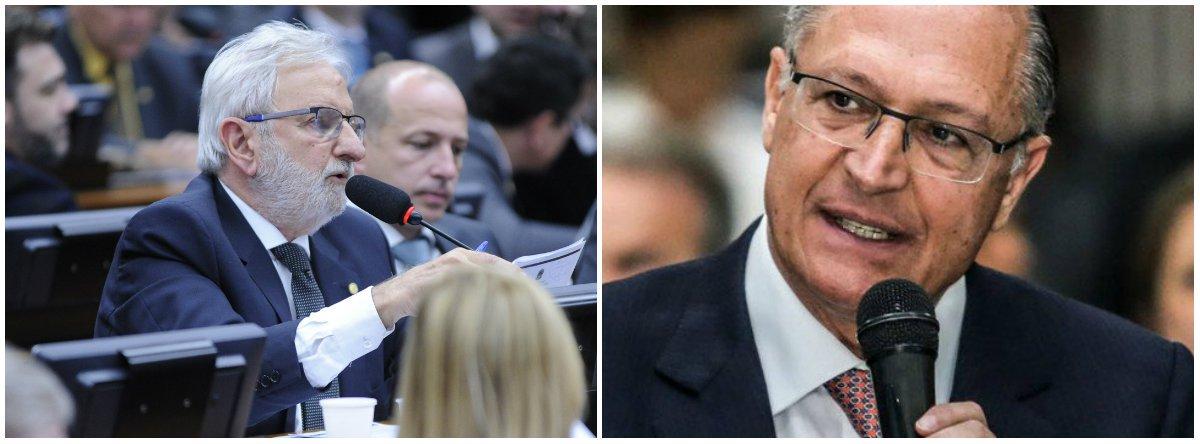 """Após a deflagração da greve dos metroviários em São Paulo, o deputado federal Ivan Valente (Psol-SP) bateu duro no governador Geraldo Alckmin, ao afirmar que o """"governo privatista tucano aliado a uma mídia que desinforma sobre as razões da greve, servem ao desgaste do que é público e o seu sucateamento para maximizar lucros e degradar salários""""; """"O sofrimento do povo pela falta de transporte é responsabilidade de Alckmin"""", disse o parlamentar"""