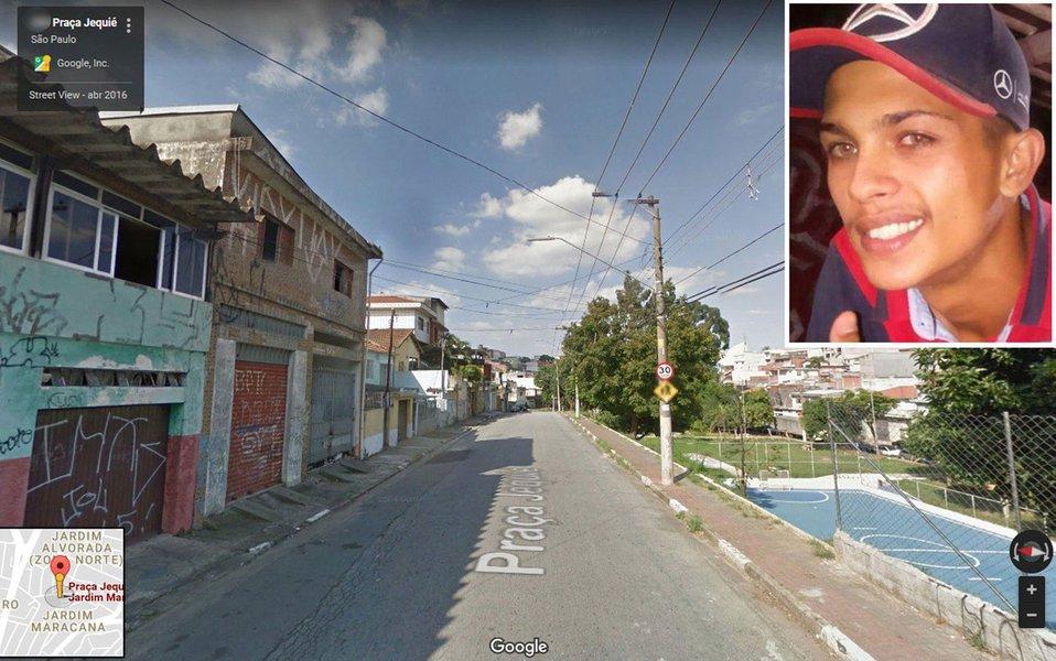 Três jovens foram assassinados em chacina na madrugada de sábado (10) na Praça Jequié, na Brasilândia, zona norte de SP; esta foi a terceira chacina neste início de ano na região metropolitana; o crime ocorreu por volta das 5h20 de sábado. Leonardo Szessia, 19 anos, David Barros, 20 anos, e Luiz Gustavo de Oliveira, 21 anos, foram atingidos por disparos; David e Luiz foram encontrados sem vida; Leonardo foi socorrido ao Hospital Vila Nova Cachoeirinha, mas não resistiu aos ferimentos