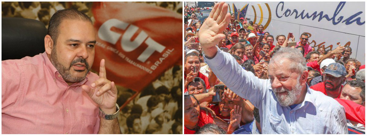 """Em ato de comemoração dos 38 anos do PT, o presidente de CUT, Vagner Freitas, prestou solidariedade ao ex-presidente ao partido e ao ex-presidente Lula; de acordo com o sindicalista, o PT foi a """"mais bonita construção que a classe trabalhadora realizou, principal instrumento de luta da classe dos trabalhadores""""; Freitas disse que a """"burguesia quer enfraquecer o partido """"pelos seus acertos, porque o PT tem a """"melhor plataforma para tirar brasileiros dos atrasos e tem a maior liderança da classe operária do mundo, que é Lula"""""""