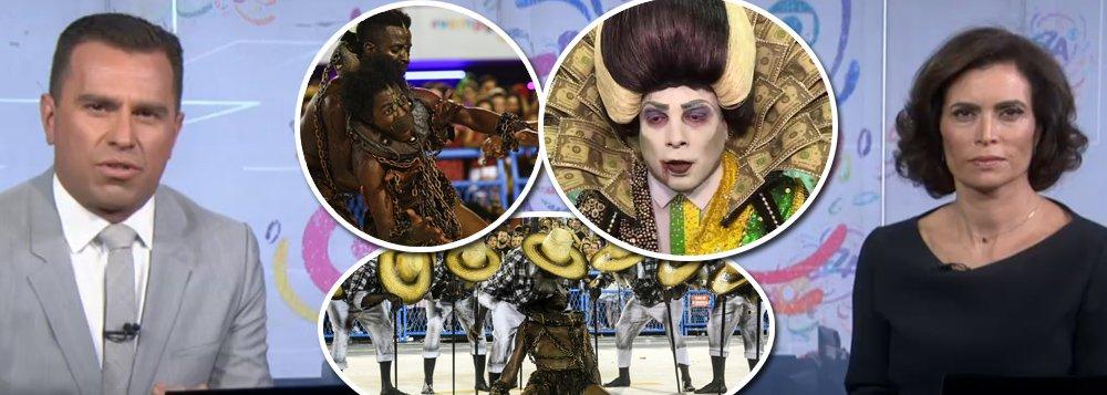 """""""A reação popular à absurda linha de cobertura da Globo no carnaval mostra que a emissora não mudou mas o país é outro"""", escreve Paulo Moreira Leite, articulista do 247; """"E isso é muito importante no pós-Quarta-Feira de Cinzas, quando começa o tempo mais quente de um ano de campanha presidencial, com múltiplas pressões para impedir a candidatura de Lula, todas alimentadas pela Globo"""", diz PML; para ele, a Globo rerdeu o direito de fingir que uma fatia imensa da população """"não tem importância econômica, social e política"""""""
