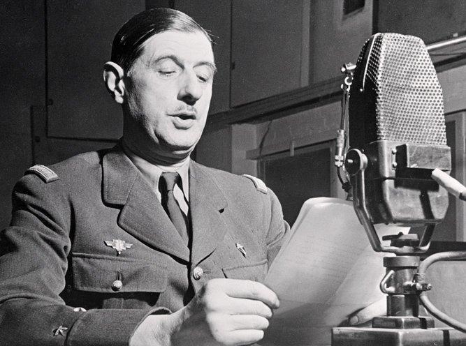 General Charles de Gaulle (1890-1970)