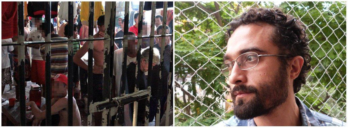 """Sociólogo Rafael Godoi afirma que """"o cárcere na realidade multiplica os problemas e as ameaças: ela não é solução, ela é problema. Um dos pontos mais evidentes é que ela estigmatiza massas de trabalhadores pobres, de periferia, que por uma passagem ou um parentesco com alguém que tem passagem pelo sistema, se veem alijados de oportunidades. E isso também expõe um grupo de pessoas ao extermínio"""""""