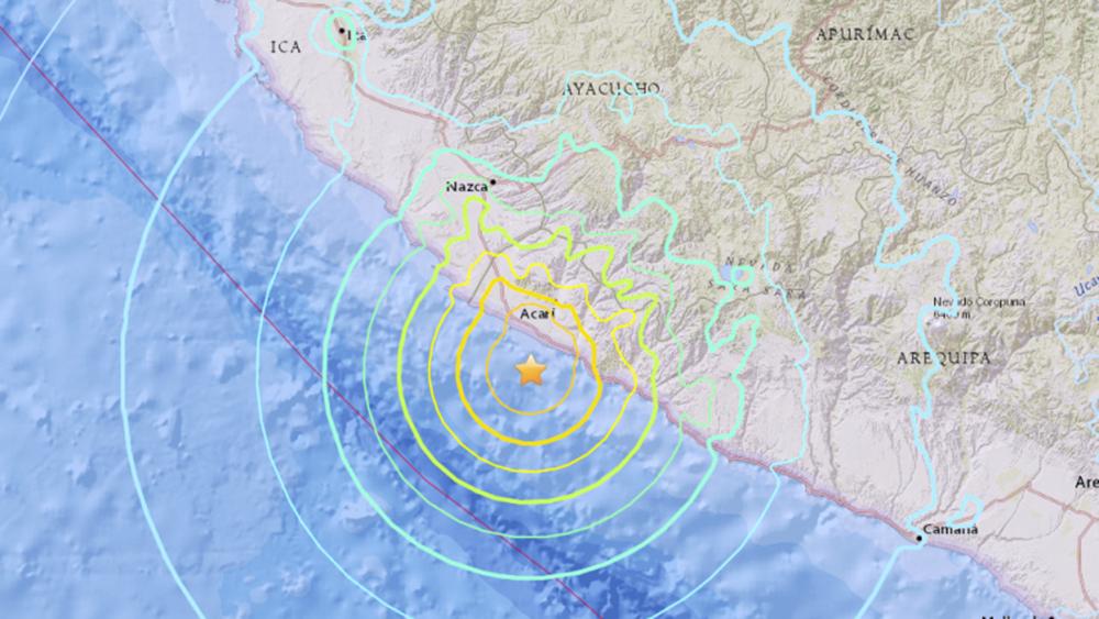 O número de feridos pelo terremoto que atingiu o Sul do Peru, nas regiões de Arequipa, Ayacucho e Ica, subiu para 104, enquanto o número de casas afetadas chegou a 780, informou o Centro de Operações de Emergência Nacional (Coen) do país; de acordo com o boletim do Instituto Nacional de Defesa Civil (Indeci), o tremor deixou 84 feridos na província de Caravelí e cinco em Condesuyos, na região de Arequipa, onde foi localizado o epicentro