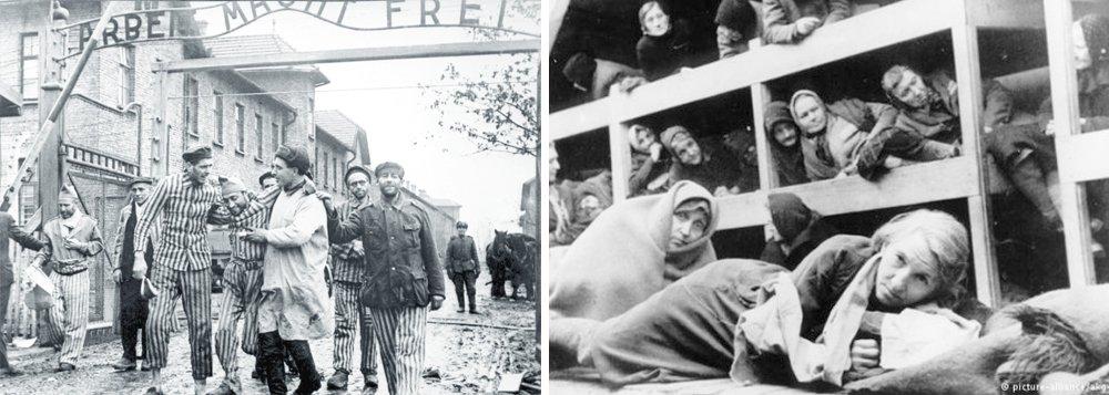 As tropas soviéticas chegaram a Auschwitz, hoje Polônia, na tarde de 27 de janeiro de 1945, um sábado. A forte resistência dos soldados alemães causou um saldo de 231 mortos entre os soviéticos; Oito mil prisioneiros foram libertados, a maioria em situação deplorável devido ao martírio que enfrentaram