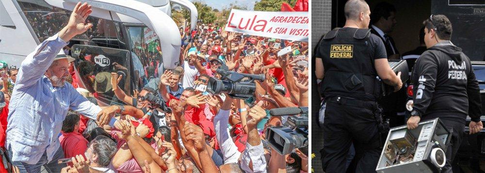 """O colunista Ribamar Fonseca avalia que """"a Lava Jato se tornou o grande poder deste país e todos se referem a ela com salamaleques, inclusive membros do STF, sem coragem de contraditá-la"""", mas que """"apesar da cobertura da mídia, essa operação já começa a perder credibilidade junto à população porque ficou visível a sua cor político-partidária na perseguição a Lula e petistas"""""""