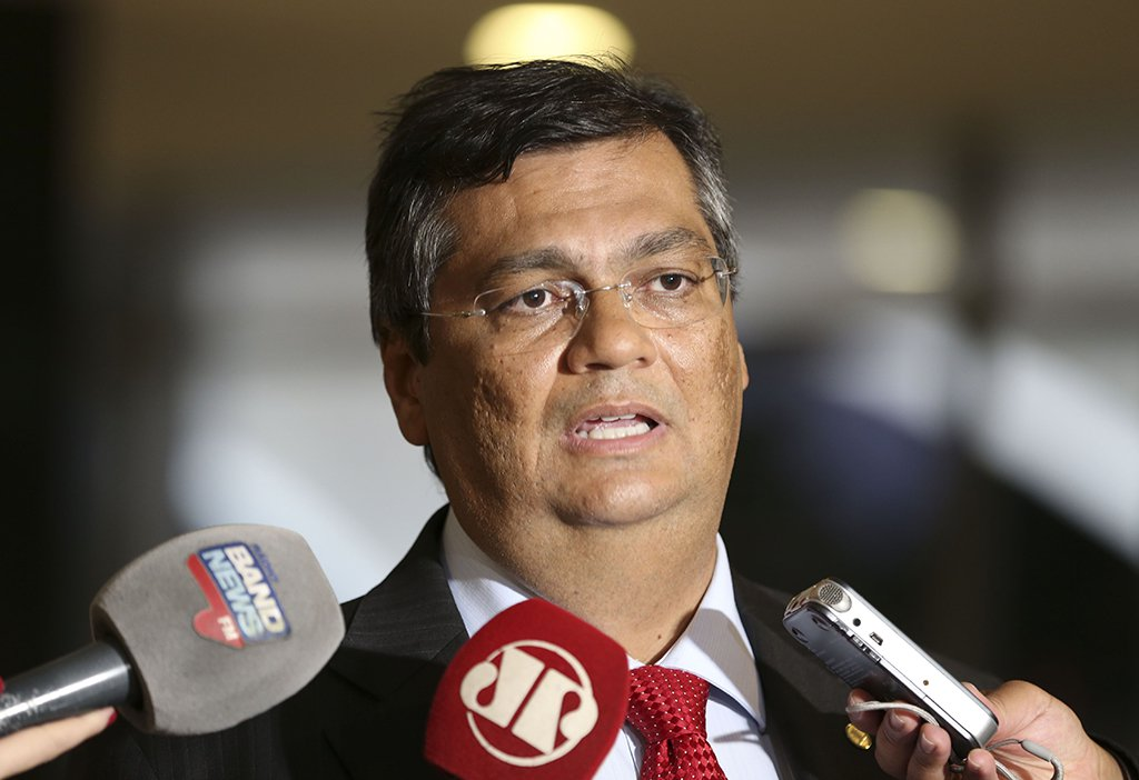 Brasília - Entrevista coletiva com o overnador do Maranhão, Flávio Dino (Valter Campanato/Agência Brasil