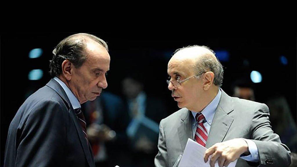 José Serra e Aloysio Ferreira