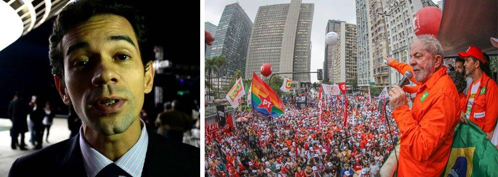 """""""É muito importante falar do que está acontecendo com o Lula, apontar as anormalidades sucessivas com a qual tem sido tratado pelo judiciário e tomar lado claro pela normalidade democrática no Brasil. Eleição sem Lula é golpe – de novo"""", diz o vereador em Niterói Leonardo Giordano, presidente do PCdoB na cidade; """"O julgamento do Lula não é pra julgar nada, é pra condenar e impedir de disputar a eleição. É por isso que o TRF-4 adiantou sete processos e correu pra marcar, bem rapidinho"""""""