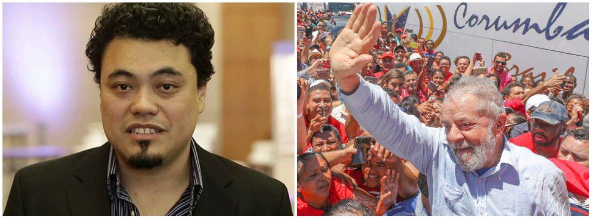"""Jornalista Leonardo Sakamoto afirma que a apreensão do passaporte """"pode acabar fortalecendo o discurso de Lula, de que está sendo perseguido""""; """"Se fossem os desembargadores do TRF-4 que tivessem definido a apreensão do passaporte seria mais compreensível, uma vez que seria parte do processo. Mas não foi o caso, o que tem cara de arbitrariedade"""", diz;""""Se continuarem pipocando surpresas como essa, é bem possível que a figura de mártir seja construída em torno dele antes do que se imaginava"""" e aumentar as intenções de voto"""