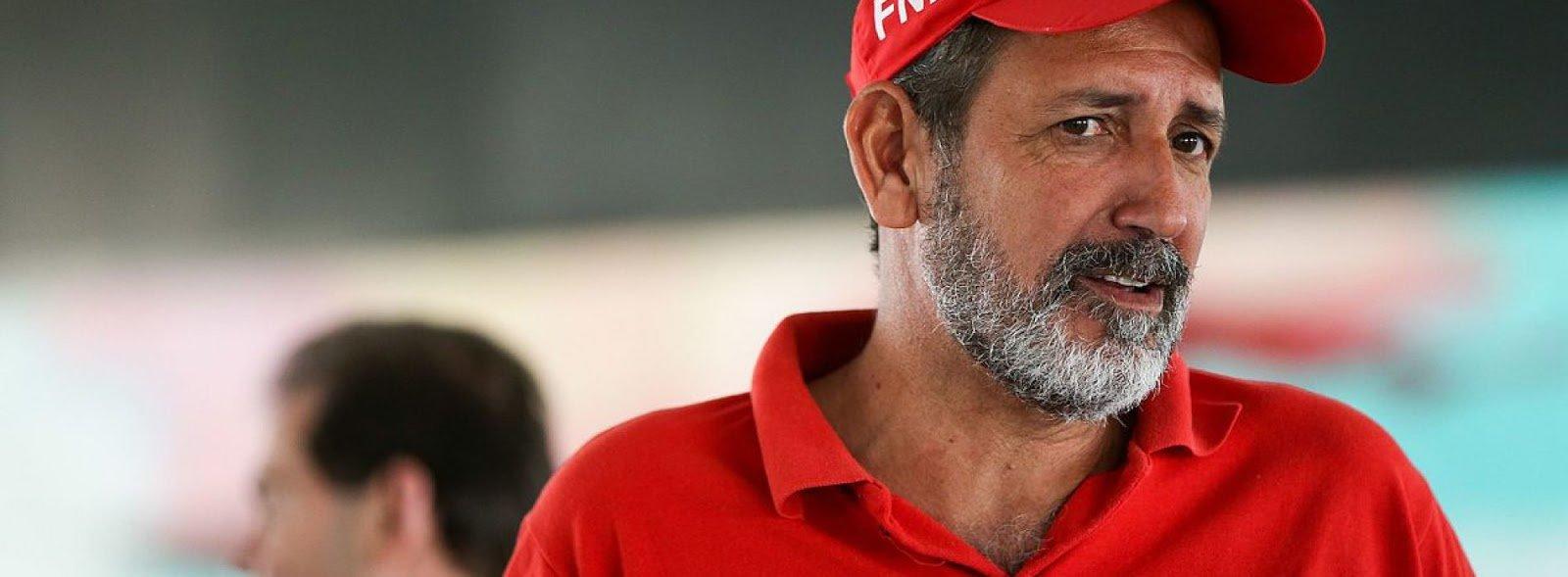 Ex-líder do MST e militante da Frente Nacional de Luta do Campos e Cidades, José Rainha