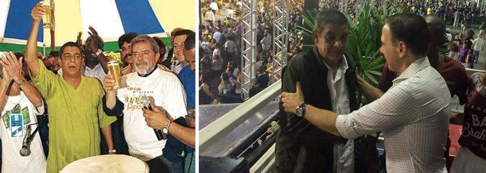 O assédio do prefeito João Doria (PSDB) sobre o cantor Zeca Pagodinho, forçando-o a tirar uma foto com ele viralizou nas redes sociais neste domingo, 11; assunto é um dos mais comentados do Twitter e não sobraram memes sobre a atitude do prefeito tucano