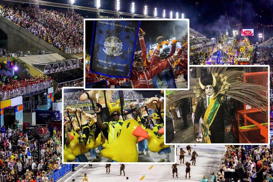 O espetáculo promovido pela Tuiuti na Sapucaí foi um chamamento à luta de todo o povo brasileiro contra os retrocessos impostos pelo consórcio golpista
