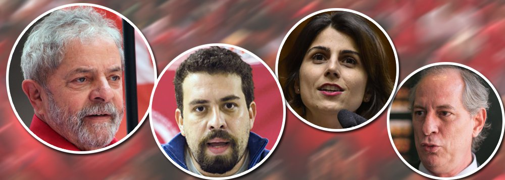 """""""Escapa ao entendimento racional e à lógica política o que ocorre com os partidos de esquerda nessas eleições. Tradicionais aliados do PT e de Lula, como PCdoB e PDT, que ganharam relevância nos governos Lula e Dilma e o PSOL, que nunca participou de governos do PT, mas combateu a deposição de Dilma, resolveram lançar candidato próprio a presidente este ano. Sabe-se lá por que! Logo neste ano em que Lula - favorito disparado - tem pela frente tantos obstáculos e precisava, mais do que nunca, do apoio dos aliados de todas as horas"""", alerta o colunista Alex Solnik"""