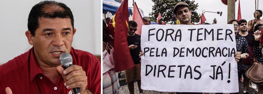 Coordenador da CMP (Central de Movimentos Populares) e membro da coordenação nacional da FBP (Frente Brasil Popular), que congrega 85 entidades de movimentos sindicais, sociais e populares, Raimundo Bonfim afirma em artigo especial para o Viomundo que o desafio dos movimentos sindicais, sociais e populares que compõem a Frente Brasil Popular para 2018 é aumentar as mobilizações com o objetivo de restabelecer a democracia e a soberania, bem como barrar a reforma da previdência