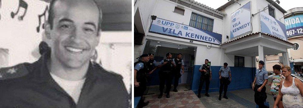 O subcomandante da Unidade de Polícia Pacificadora (UPP) da Vila Kennedy, na zona oeste do Rio, tenente Guilherme Lopes da Cruz, foi o vigésimo policial a perder a vida de forma violenta no Rio de Janeiro neste ano; oficial foi morto em Jacarepaguá, na zona oeste da cidade, na madrugada de hoje; segundo a Polícia Militar (PM), ele reagiu a uma tentativa de assalto, quando foi abordado por criminosos em uma lanchonete no local, na Estrada do Gabinal