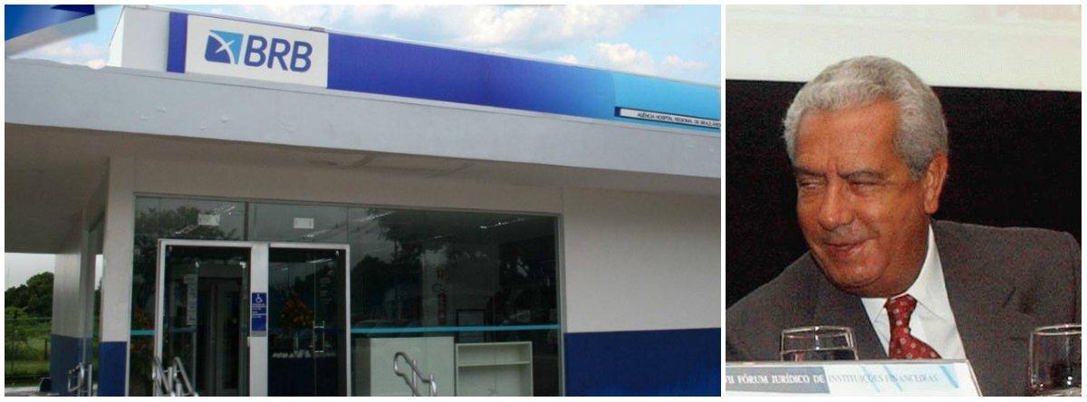 A 1ª Vara Criminal de Brasília condenou nove pessoas acusadas de integrar um esquema de corrupção desmantelado pela Operação Aquarela,deflagrada em junho de 2007; entre os condenados está oex-presidente do Banco de Brasília (BRB) Tarcísio Franklin de Moura por dispensa ilegal de licitação, peculato e lavagem de dinheiro; o ex-dirigente terá26 anos de prisão, sendo 15 deles em regime fechado; foi desviada a quantia de R$ 3.499.736,91 de recursos públicos, valor que é exigido dos infratores para ressarcir a sociedade brasiliense