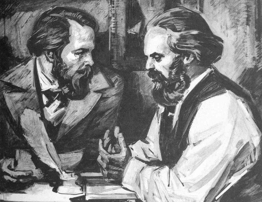 Marx e Engels, desde que iniciaram sua atividade revolucionária, trabalharam para dotar a classe operária de ferramentas políticas e ideológicas, em luta por sua emancipação social