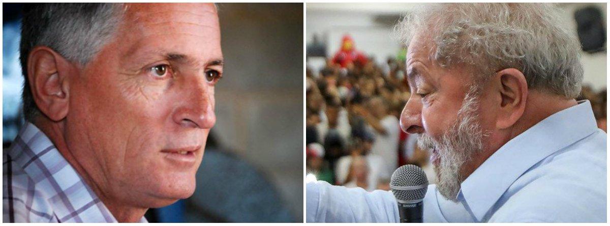 """Criticando o processo do ex-presidente Lula envolvendo o tripléx no Guarujá (SP), em que o petista foi condenado sem provas pelo juiz Sergio Moro, o deputado estadual Rogério Correia (PT) pergunta: """"Por que, na hora de confiscar os bens do ex-presidente, Moro não confiscou o tal tríplex?""""; outro questionamento seria: """"Por que uma juíza em Brasília mandou penhorar o tríplex do Guarujá alegando que ele é propriedade da OAS? Mas não era do Lula, Moro?"""""""