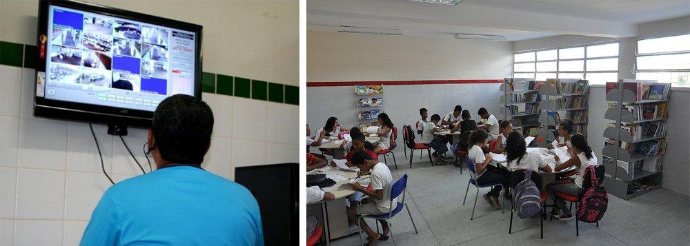 Após a implantação, em junho, do sistema de monitoramento eletrônico em apenas cinco escolas de Aracaju, o governo do Estado decidiu ampliar para mais 34 escolas da capital; ideia é que esse novo sistema seja integrado aos vigilantes escolares e com a estrutura de segurança pública governamental