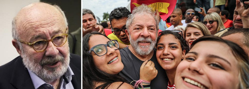 """No dia seguinte à condenação de Lula pelo TRF4, """"enquanto a direção do PT reunida em São Paulo lançava a pré-candidatura do ex-presidente, começavam as especulações na imprensa para saber quanto tempo vai levar para ele ser preso"""", observa o jornalista; para Ricardo Kotscho, """"é como se o país vivesse duas histórias paralelas embricadas entre a política e a Justiça, que terá a última palavra na atual disputa presidencial"""""""