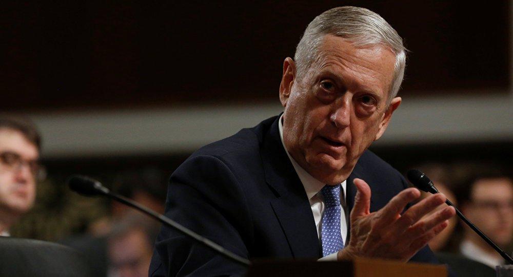 """secretário de Defesa dos Estados Unidos, Jim Mattis, disse nesta sexta-feira (26) que o diálogo em torno dos Jogos Olímpicos de Inverno na Coreia do Sul não deve tirar o foco do objetivo internacional que é desnuclearizar a península coreana; """"A diplomacia deve impor razão à retórica imprudente e as provocações periogosas de Kim [Jong-un]"""", disse Mattis; """"A campanha de pressão internacional deve continuar"""""""