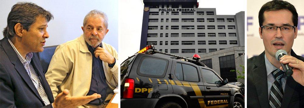 """Para o colunista Jeferson Miola, """"o regime de exceção, """"convicções"""" e """"intuições"""" são requerimentos suficientes para incriminar petistas na marra; """"Lula foi incriminado com base em """"convicções""""; ou seja, em pré-julgamento ideológico e político dos procuradores da república e delegados da polícia federal – tucanos que aparelham as instituições de Estado para aniquilar inimigos políticos"""", diz; agora, segundo ele, """"para indiciar de qualquer maneira e sem bases materiais o ex-prefeito paulistano Fernando Haddad, o delegado da PF João Muniz Moraes Rosa apelou para a """"intuição""""; """"a prática fascista está consentida e disseminada nas instâncias policiais e judiciais. Está luxuosamente aceita como algo normal nos inquéritos policiais e nas decisões de procuradores e juízes"""", finaliza"""