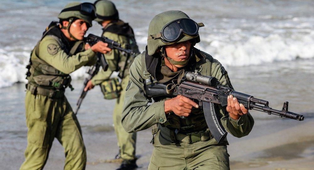 Exercício militar Venezuela