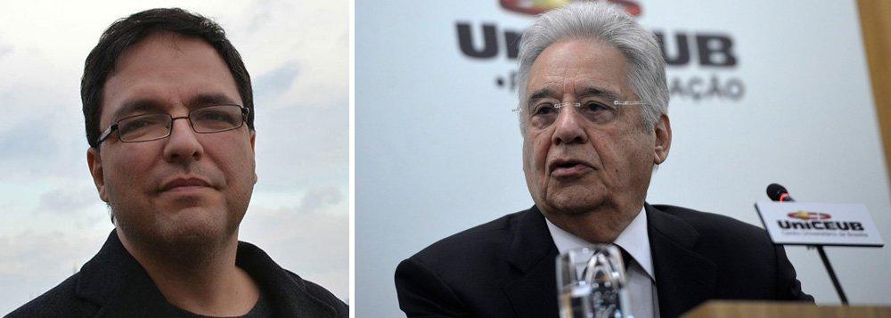 """Cientista Político lembra que o PSDB sempre teve dificuldade para chegar unido a uma eleição, dada a competição interna entre seus """"eternos perdedores"""" Serra, Alckmin e Aécio; """"Este ano, a pista parecia livre para Alckmin"""", ao falar sobre as saídas de Serra e Aécio, atolados em denúncias de corrupção, e a carbonização de João Doria; """"Ledo engano. Agora FHC está sabotando a candidatura de Alckmin, falando em público e agindo nos bastidores em favor de Luciano Huck. O símbolo deles é o tucano, mas seria mais apropriado o escorpião"""""""