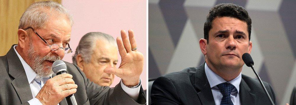 """Em entrevista nesta terça-feira 6, o ex-presidente Lula criticou o auxílio-moradia pago a magistrados que têm imóvel próprio na cidade onde trabalham, entre eles o juiz Sergio Moro, que o condenou em primeira instância; Moro disse que o auxílio era uma compensação pela falta de reajuste da categoria; """"Agora aprendi uma nova: o povo brasileiro que não tem aumento de salário, por favor, façam como juiz Moro e requeiram auxílio-moradia"""", ironizou Lula; """"Como pode uma pessoa que recebe 30 mil requerer auxílio-moradia porque não teve aumento de salário, enquanto o povo está sendo despejado"""", completou"""