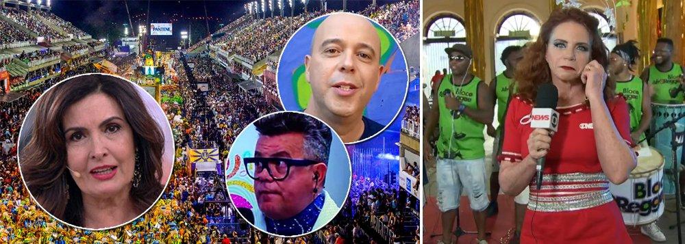 """Marcado pelo 'Fora, Temer' e pelo 'volta, Lula', o carnaval de 2018 também entra para a história como o que mais constrangimento gerou para a Globo, que foi uma das peças centrais no golpe de 2016; além da desmoralização sofrida no desfile da Tuiuti, em que seus apresentadores se calaram diante dos """"manifestoches"""" e do """"Temer vampirão"""", vários repórteres da Globo foram zoados em transmissões ao vivo, como aconteceu com Leilane Neubarth, que teve que ouvir 'vai dar PT';Globo tentou se redimir em matéria no JN com 24 horas de atraso, mas acabou passando recibo do arrastão moral que levou; é o que dá apoiar um golpe que derrubou uma presidente honesta e instalou uma quadrilha no poder"""