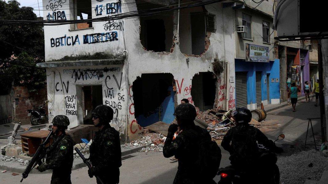 A intervenção militar na área de segurança no Rio de Janeiro é o resultado final de uma tragédia anunciada