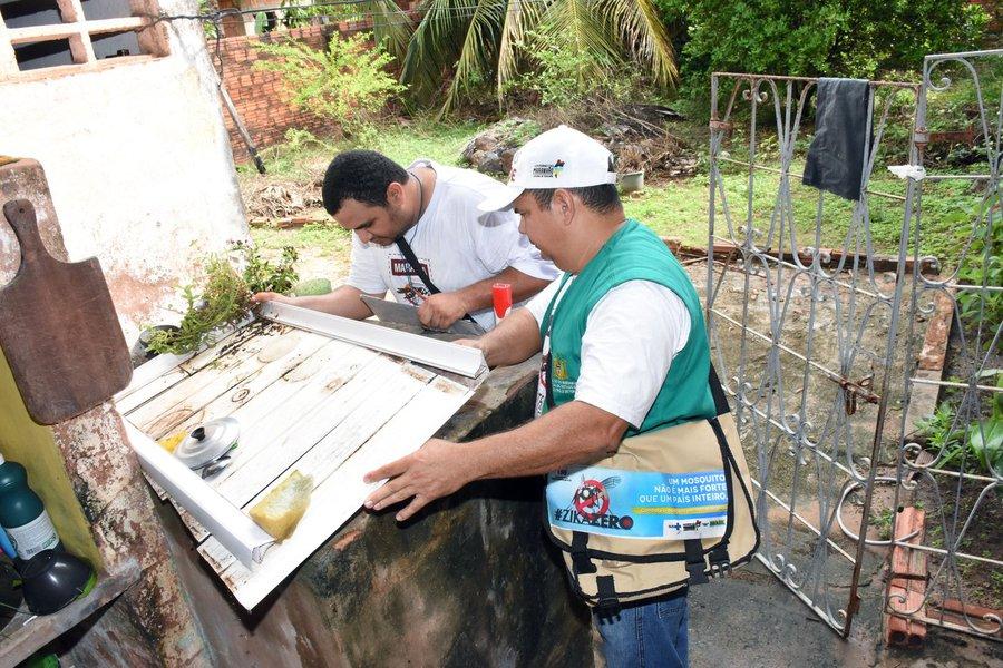 O Maranhão teve queda de 74,5% no número de casos suspeitos de dengue nas primeiras semanas deste ano na comparação com o mesmo período de 2017, segundo o jornal Folha de S. Paulo; a redução é mais acentuada que a verificada no Brasil todo, de 44%; alguns Estados tiveram aumento de casos, como São Paulo, cuja alta foi de 241%