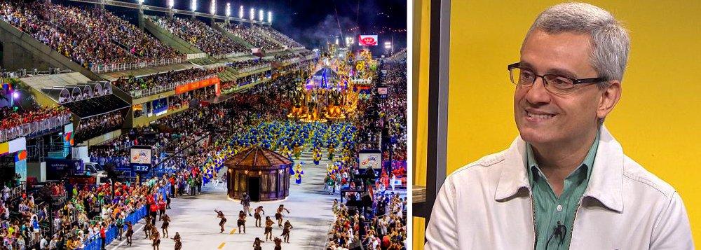 """Jornalista e escritor Mário Magalhães exalta o desfile histórico da Paraíso do Tuiuti, no Rio, que criticou Temer, o golpe, a perda de direitos e questiona o fim da escravidão, e numa alfinetada à Globo, diz que a escola """"tem mais coragem do que quem cala sobre o conteúdo real do seu enredo!""""; """"Discordar, criticar é do jogo. Mas omitir é um despropósito"""", afirma"""