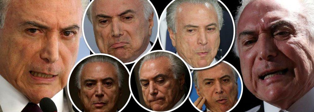 """Aos olhos do povo brasileiro, Michel Temer, que conquistou o poder por meio de um golpe jurídico, midiático e parlamentar, só tem características negativas; segundo uma pesquisa do Instituto Ideia Big Data ele é praticamente um monstro, que reúne traços como corrupção, sujeira, egoísmo, fraqueza e uma disposição incomum de agir contra o próprio povo;""""Não há a menor condição de alguém apoiado por Temer vencer"""", diz Maurício Moura, diretor do instituto"""