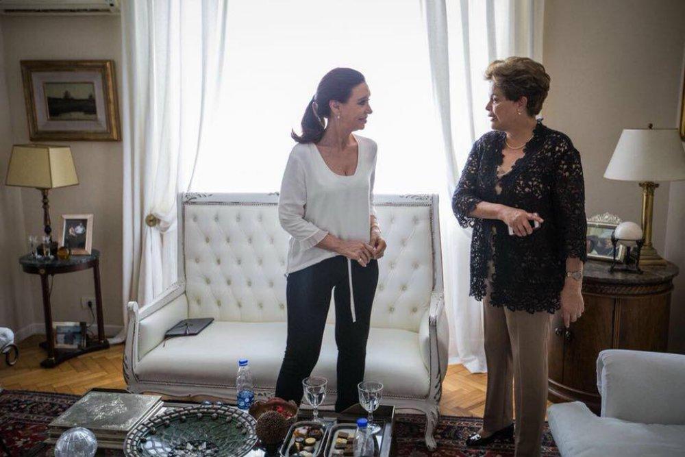 Dilma e Cristina