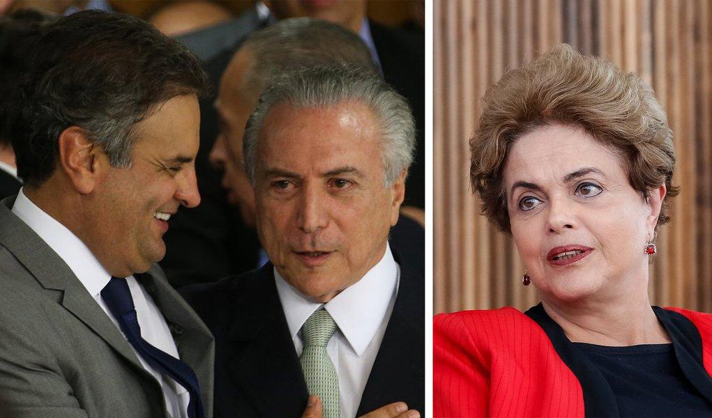 """""""O impeachment contra a presidente Dilma Rousseff vai se revelando um brutal erro de cálculo das classes dominantes, desses para inscrição com favoritismo no campeonato mundial de tiro ao pé"""", diz o jornalista Breno Altman, editor do Opera Mundi; """"Tivessem se conservado no terreno da Constituição e mantido o governo Dilma sob pressão, na rota de concessões do segundo mandato, cuja lógica de apaziguamento do capital e seus agentes políticos detonava a base social do campo popular, e provavelmente o PT - ainda por cima acossado pela Lava Jato - estaria eleitoralmente inviabilizado, arrastando até mesmo Lula para o fundo do poço"""", afirma"""