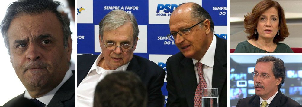 O senador Aécio Neves (PSDB-MG) conseguiu uma proeza; depois de liderar, em 2016, um golpe que destruiu a democracia brasileira e permitiu que uma quadrilha se instalasse no poder, ele conseguiu agora implodir seu próprio partido; ao destituir o senador Tasso Jereissati (PSDB-CE), Aécio revoltou o governador Geraldo Alckmin e fez até com que a Globo, tradicional fiadora do PSDB, abandonasse o barco; para Miriam Leitão, a impunidade subiu à cabeça de Aécio e Merval Pereira diz que o político mineiro atirou seu partido no precipício