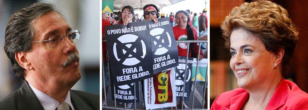 """No dia 13 de maio deste ano, um ano após o golpe de 2016, o jornalista Merval Pereira, colunista do Globo, pediu a prisão da presidente deposta Dilma Rousseff, a partir de uma delação sem provas de Mônica Moura, mulher do publicitário João Santana; à época, Dilma reagiu duramente e demonstrou como a Globo tenta passar por cima do Poder Judiciário para promover linchamentos de adversários; """"A cobertura das Organizações Globo, defendendo o justiçamento de adversários políticos, quer substituir o Judiciário – e todas as demais instâncias operadoras do Direito – pelo escândalo midiático. Julgam e condenam"""", disse ela; agora, com a Globo delatada no escândalo das propinas do futebol, Merval se mantém calado"""