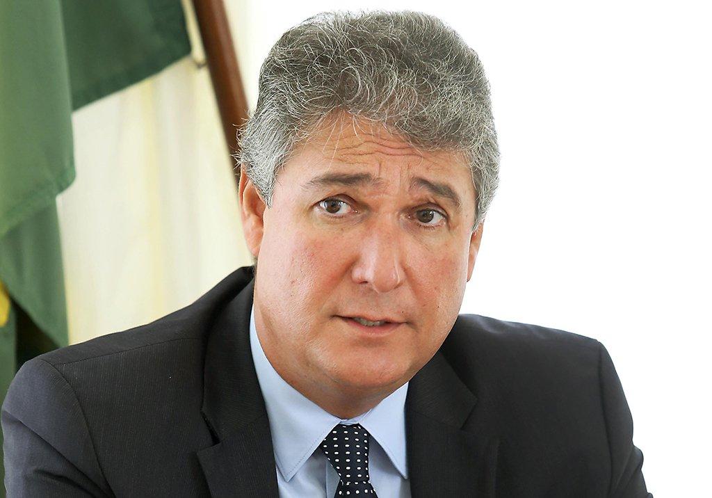 Secretário da Fazenda do Paraná, Mauro Ricardo Costa. Curitiba, 02/01/2017. Foto: Julio César da Costa Souza / Arquivo / SEFA