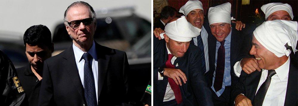 """O Ministério Público Federal do Rio de Janeiro confirmou que Carlos Arthur Nuzman, presidente do Comitê Olímpico Brasileiro (COB), preso nesta quinta-feira 5 em um desdobramento da Lava Jato, participou da festa conhecida como """"farra dos guardanapos"""", em Paris, que teve a presença do ex-governador Sergio Cabral"""