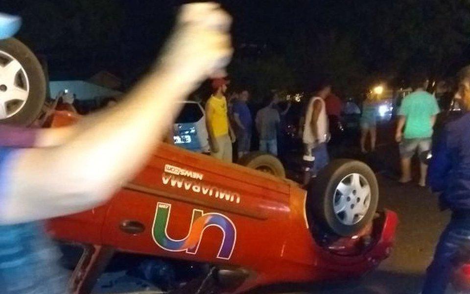 A Polícia Civil infirmou que presos da cadeia pública de Umuarama, no noroeste do Paraná, encerraram a rebelião; ao todo, 260 detentos se rebelaram.O local fica anexo ao prédio da delegacia da cidade, abriga 260 presos e tem capacidade para 64